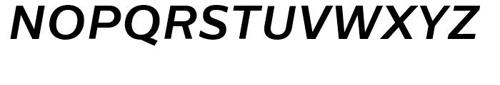 Centrale Sans Bold Italic Font UPPERCASE