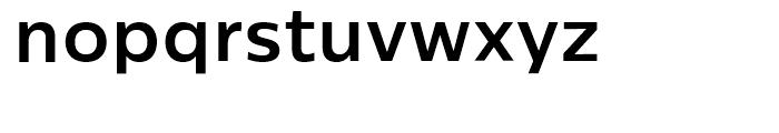 Centrale Sans Bold Font LOWERCASE