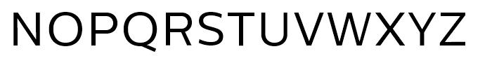 Centrale Sans Book Font UPPERCASE