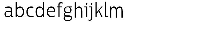 Centrale Sans Condensed Light Font LOWERCASE