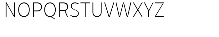 Centrale Sans Condensed Thin Font UPPERCASE