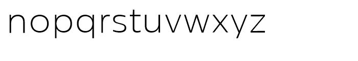 Centrale Sans Extra Light Font LOWERCASE