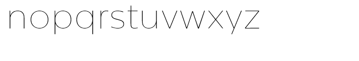 Centrale Sans Extra Thin Font LOWERCASE