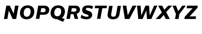 Centrale Sans ExtraBold Italic Font UPPERCASE