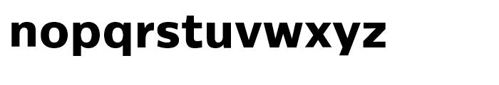 Centrale Sans ExtraBold Font LOWERCASE