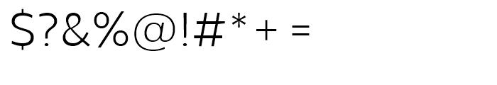 Centrale Sans Light Font OTHER CHARS