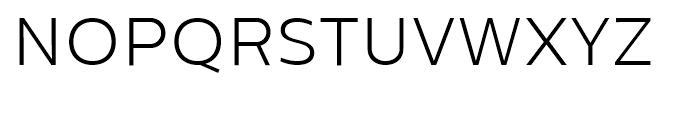 Centrale Sans Light Font UPPERCASE