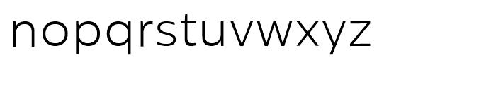 Centrale Sans Light Font LOWERCASE