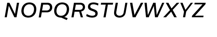 Centrale Sans Medium Italic Font UPPERCASE