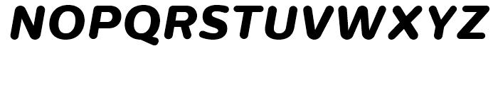 Centrale Sans Rounded ExtraBold Italic Font UPPERCASE