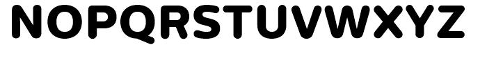 Centrale Sans Rounded ExtraBold Font UPPERCASE