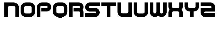 Centre Forward Black Font UPPERCASE