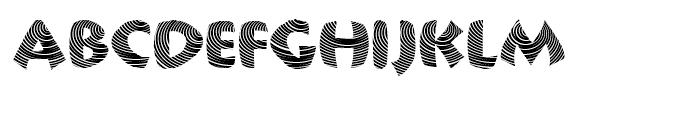 Centric Regular Font UPPERCASE