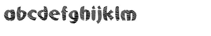 Centric Regular Font LOWERCASE