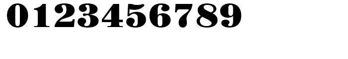 Century 725 Black Font OTHER CHARS