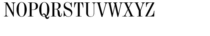 Century 725 Condensed Font UPPERCASE