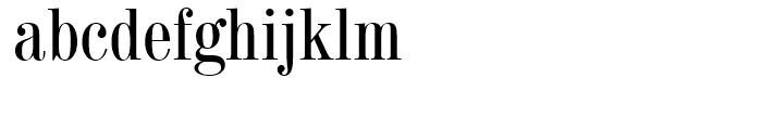 Century 725 Condensed Font LOWERCASE