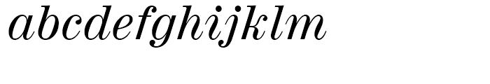 Century 725 Italic Font LOWERCASE