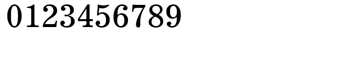 Century 731 Roman Font OTHER CHARS