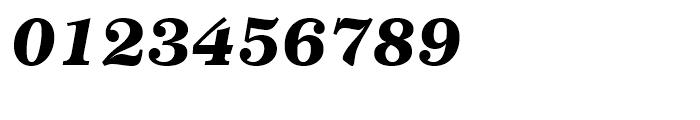 Century 751 Black Italic Font OTHER CHARS