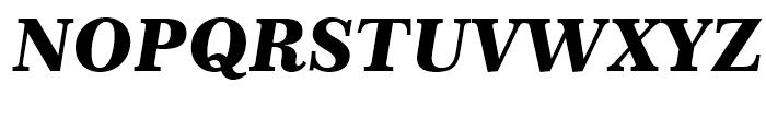 Century 751 Black Italic Font UPPERCASE