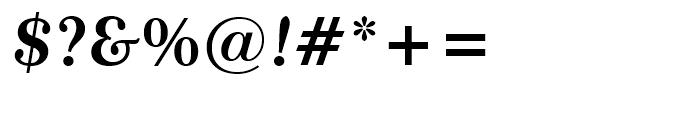 Century 751 Bold Italic Font OTHER CHARS