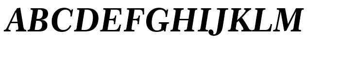 Century 751 Bold Italic Font UPPERCASE