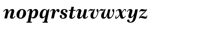 Century 751 Bold Italic Font LOWERCASE