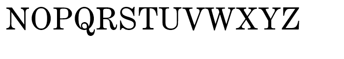Century Expanded Regular Font UPPERCASE