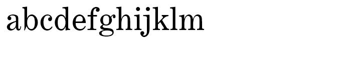 Century Expanded Regular Font LOWERCASE