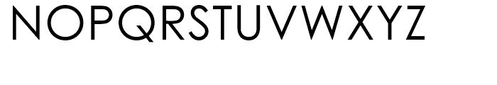 Century Gothic Regular Font UPPERCASE