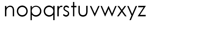 Century Gothic Regular Font LOWERCASE