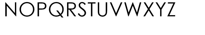 Century Gothic WGL Regular Font UPPERCASE