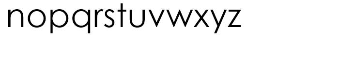 Century Gothic WGL Regular Font LOWERCASE