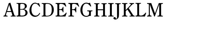 Century Old Style Regular Font UPPERCASE