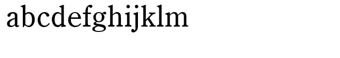 Century Old Style Regular Font LOWERCASE