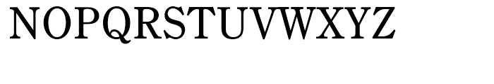 Century Old Style Small Caps Regular Font UPPERCASE