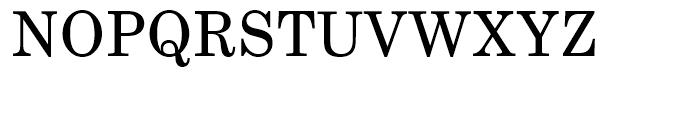 Century Schoolbook Regular Font UPPERCASE