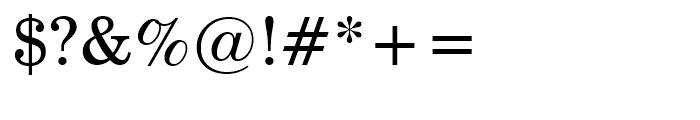 Century Schoolbook Roman Font OTHER CHARS