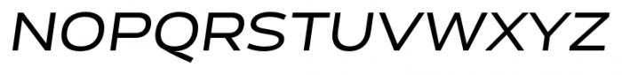 Cedra 4F Wide Italic Font UPPERCASE