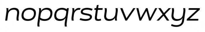 Cedra 4F Wide Italic Font LOWERCASE
