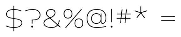 Cedra 4F Wide Thin Font OTHER CHARS