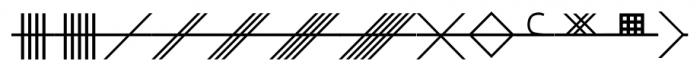 CelticAstrologer Regular Font UPPERCASE