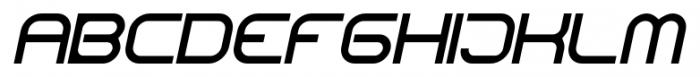 CentreForward RegularItalic Font UPPERCASE