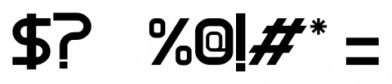 Cerena Regular Font OTHER CHARS