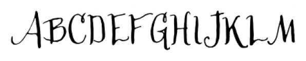 Cerise Regular Font UPPERCASE