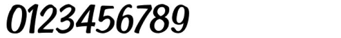 Cedar Key Italic Font OTHER CHARS