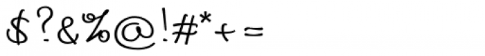 Cedi Regular Font OTHER CHARS