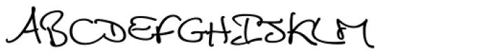 Cedi Regular Font UPPERCASE