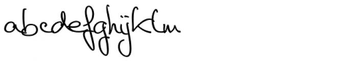 Cedi Regular Font LOWERCASE